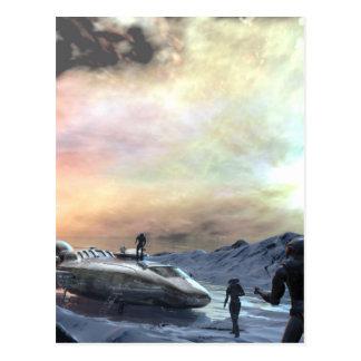 Doppelsonnewelt Postkarten