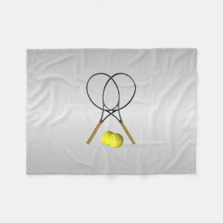 Doppelt-Tennis-Sport-Thema Fleecedecke