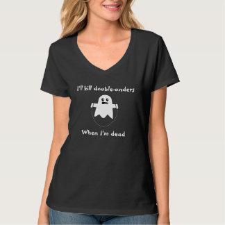 Doppelt-unders seien Sie einfach, wenn Sie ein Shirt
