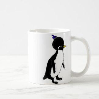 doppelte AfroTasse des Penguin Kaffeetasse