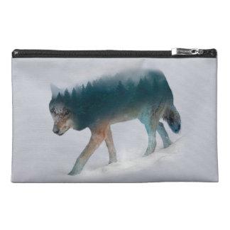 Doppelte Belichtung des Wolfs - Wolfwald - Wolf Reisekulturtasche