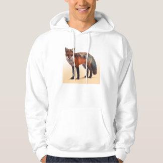 Doppelte Belichtung Fox - Fuchskunst - roter Fuchs Hoodie