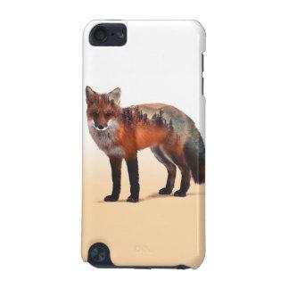 Doppelte Belichtung Fox - Fuchskunst - roter Fuchs iPod Touch 5G Hülle