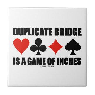 Doppelte Brücke ist ein Spiel von Zoll Fliese