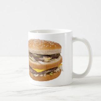 Doppelte Cheeseburger-Tasse Tasse