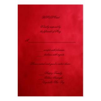 Doppelte Glück-Hochzeit Visitenkarten Vorlagen