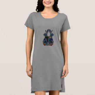Doppelte glückliche Hasen Kleid