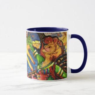 Doppelte himmlische feenhafte Kaffee-Tasse Tasse