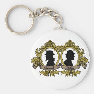Doppelte Miniatur Keychain Schlüsselanhänger