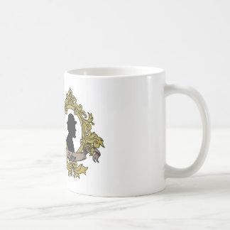 Doppelte Miniatur-Tasse Kaffeetasse