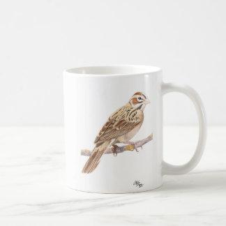 Doppelte Spatzen-Tasse Kaffeetasse