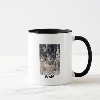 Doppelte Wolf-Wecker-Tasse Tasse