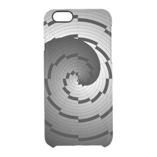 Doppelte Yin Yang Spirale Durchsichtige iPhone 6/6S Hülle