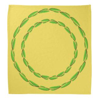Doppelter Blatt-Kreis durch Kenneth Yoncich Kopftuch