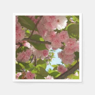 Doppelter blühender Frühling des Kirschbaum-III Papierserviette