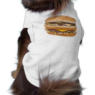 Doppelter CheeseburgerhundT - Shirt