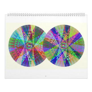 Doppelter Glück-Regenbogen-Kalender 2017 Kalender