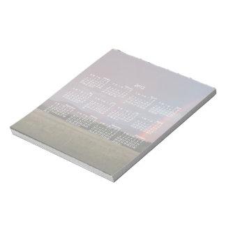 Doppelter Regenbogen; Kalender 2013 Notizblock
