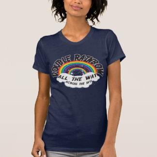 DOPPELTER REGENBOGEN vollständig T-Shirts