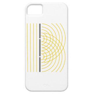 Doppelter Schlitz-Lichtwelle-Partikel-Wissenschaft Schutzhülle Fürs iPhone 5