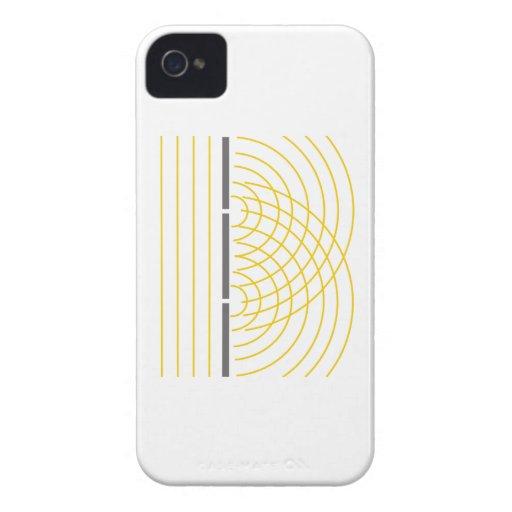 Doppelter Schlitz-Lichtwelle-Partikel-Wissenschaft Case-Mate iPhone 4 Hülle