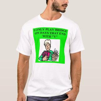 doppeltes Bridge-Spieler Spiel T-Shirt