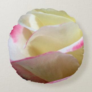Doppeltes Freuden-Rosen-Kissen Rundes Kissen
