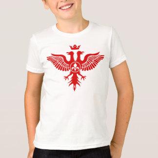 Doppeltes ging Adler-heraldischen T - Shirt voran