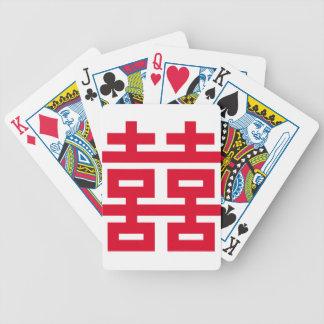 Doppeltes Glück Bicycle Spielkarten