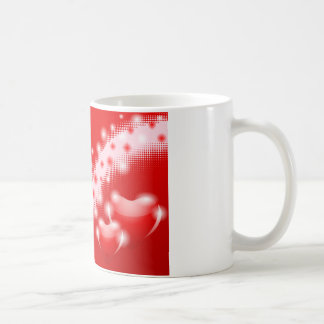 Doppeltes Herz Kaffeetasse