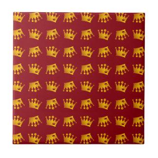 Doppeltes Kronen-Muster Keramikfliese
