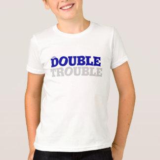 Doppeltes Problem-Doppelt-Stück T-Shirt
