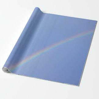 Doppeltes Regenbogen-Packpapier Geschenkpapier