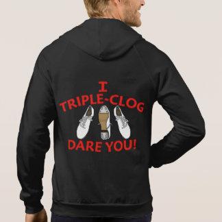 Doppeltes versah verstopfende dreifache hoodie