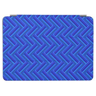 Doppeltwebartmuster der blauen Streifen iPad Air Hülle