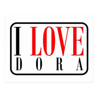 Dora, Alabama Postkarte