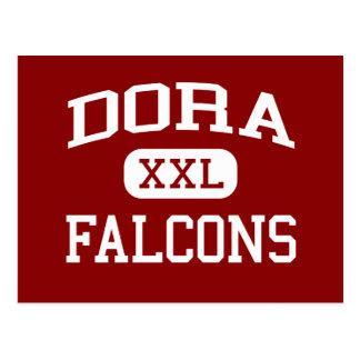 Dora - Falcons - Dora Highschool - Dora Missouri Postkarte