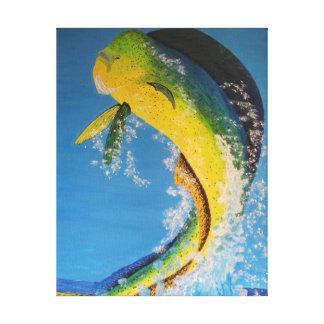 Dorado Delphinfische Leinwanddruck