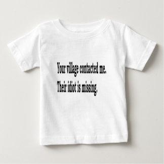 Dorf-Idiot Baby T-shirt