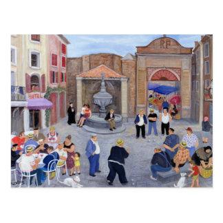 Dorf in Provence Postkarte