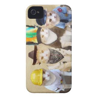 Dorf-Kätzchen iPhone 4 Hüllen