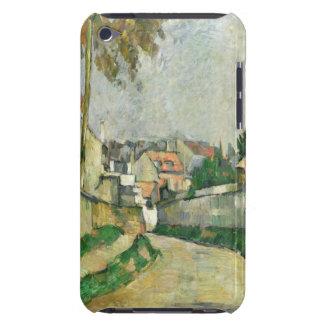 Dorf-Straße, 1879-82 (Öl auf Leinwand) iPod Case-Mate Case