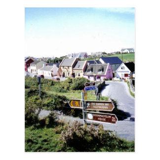 Dorf von Doolin, Irland Postkarte