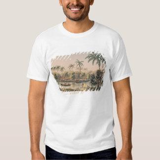 Dorf von Matavae, Tahiti Tshirts