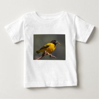 Dorf-Weber auf Niederlassung Baby T-shirt