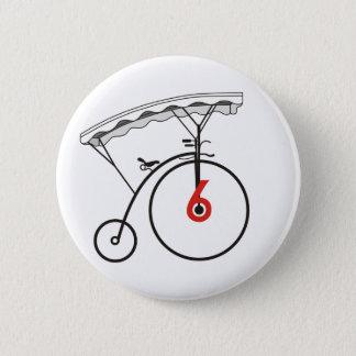 Dorfbewohner-Abzeichen der Nr.-6 Runder Button 5,7 Cm