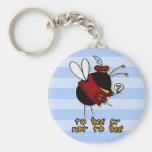 Dörfchenbiene Schlüsselanhänger
