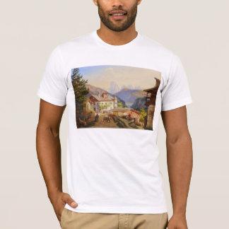 Dorfszene von St Peter Josef Arnold das jüngere T-Shirt