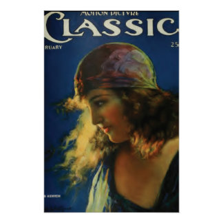 Doris Kenyon stilles Filmstar-Vintages Plakat
