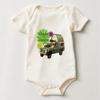 Dormobile glücklicher Mensch Baby Strampler
